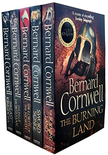 Set of 5 Books The Warrior Chronicles 1-5 (The Last Kingdom; The Pale Horseman; The Lords of the North; Sword Song; The Burning Land)