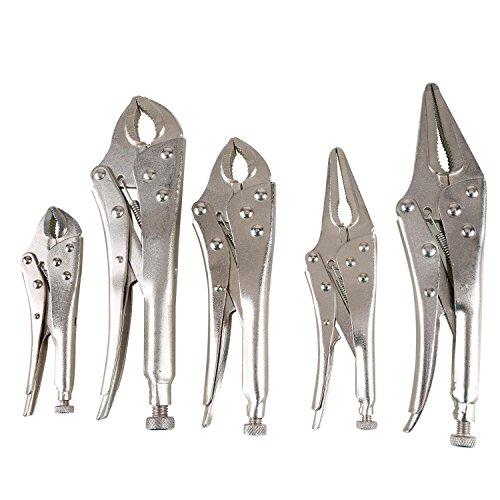 Olympia Tools 84-619 5Piece Locking Pliers Set