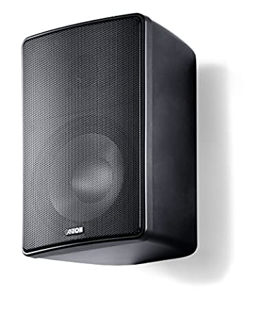 Canton Plus XL.3 Kleinlautsprecher (60/120 Watt) schwarz (Paar)