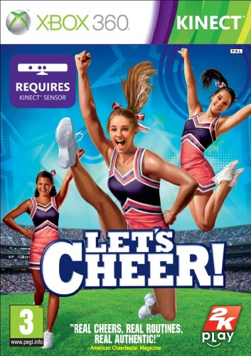 Let's Cheer - Kinect Required (xbox 360)