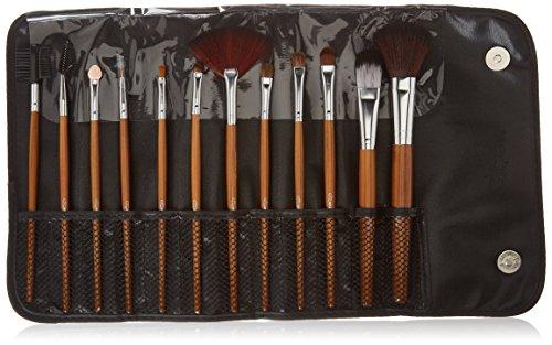 Set de maquillage professionnel Glow à 12 pinceaux