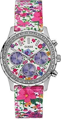 Guess Reloj Análogo clásico para Mujer de Cuarzo con Correa en Plástico W0903L1 de Guess