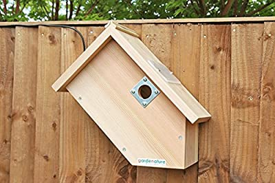 Camera Bird Box, Side View Camera Nest Box from Gardenature