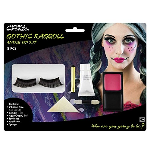 Amscan International 9901424Gothic Ragdoll Make Up Kit -