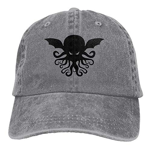 48f43ccd HouyunGood Cool Cthulhu Adult Cowboy Hat Baseball Cap Adjustable Athletic  Custom Best Graphic Hat for Men