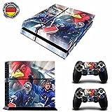 Iserlohn EishockeySony PS4 Playstation-Sticker, Aufklebermaterial aus Vinyl, Fanartikel, Sportfan