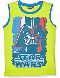 Star Wars-The Clone Wars Darth Vader Jedi Yoda Garçon Tee-shirt - vert
