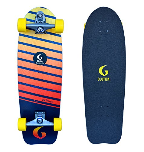 Preisvergleich Produktbild Surfskate Glutier. Glutier T12 Surf Skate Trucks. Lumix 31