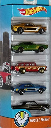 Hot Wheels, 2016 Muscle Mania 5-Pack by Hot Wheels