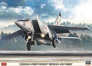 Hasegawa HA02304 Mig-25 RBT Foxbat-Russian Air Force, Multi 1:72