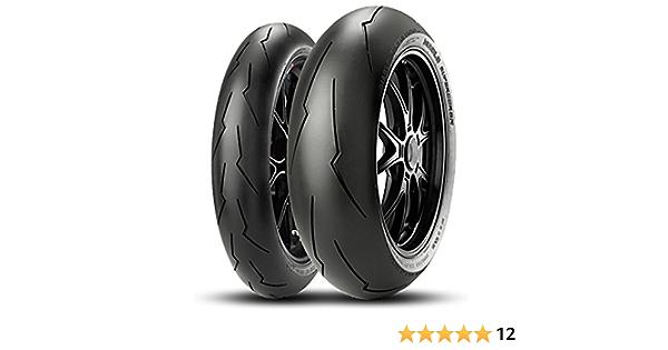 Coppia Gomme Pirelli Diablo Supercorsa Bsb 120 70 Zr 17 58w 180 55 Zr 17 73w Dot 2018 Auto