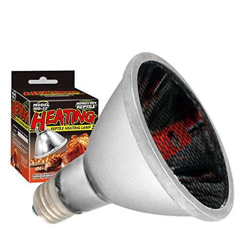 Repti-Infrarot-Heizungslampe für Reptilien, Fernlicht, Keramik-Lampe für Reptilien, Schildkröte, Schlange, Katze, Hund (Eisen-infrarot)