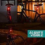 Luci-Bici-LED-Luce-Bicicletta-Impermeabile-4-Pezzi-Luci-Bicicletta-Faretto-in-Silicone-LED-Posteriore-e-Anteriore-Fanali-Bici
