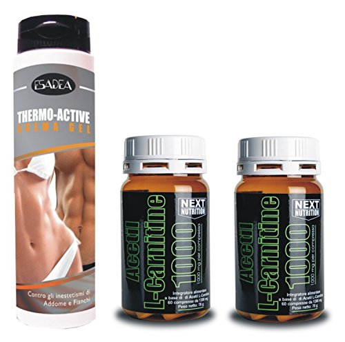 Kit Dimagrante : + 2 confezioni Acetil L- Carnitina 60 compresse gr 78, + 1 (Thermo Fat Burner)