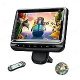 """XTRONS 1 Stück 10,1""""tragbar Auto DVD Player für Kopfstützen HD Bildschirm Headrest mit HDMI Port USB/SD Slot IR/FM Transmitter Auto Pad mit verstellbar Blickswinkel drehbar Halterung (HR102)"""