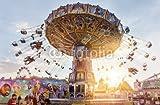Impresión de DRUCK-SHOP24Deseos Diseño: Columpios Parque de Atracciones # 71578585-Imagen Sobre Lienzo, Foto de Póster, Placa de Aluminio Dibond, Cristal acrílico, Forex, Adhesive de Pantalla