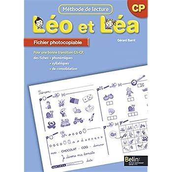 Méthodes de lectures CP Léo et Léa : Fiches photocopiables