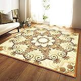 YSX-carpet Area Tappeto, Tappeto Camera da Letto Lavabile, tappezzeria Super Soft Tappeto Quadrato Soggiorno, Tappetino Yoga Tappeto Antiscivolo per Bambini,M2,5.2ftx3.9ft