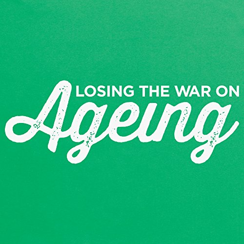 The War on Ageing T-shirt, Uomo Verde smeraldo