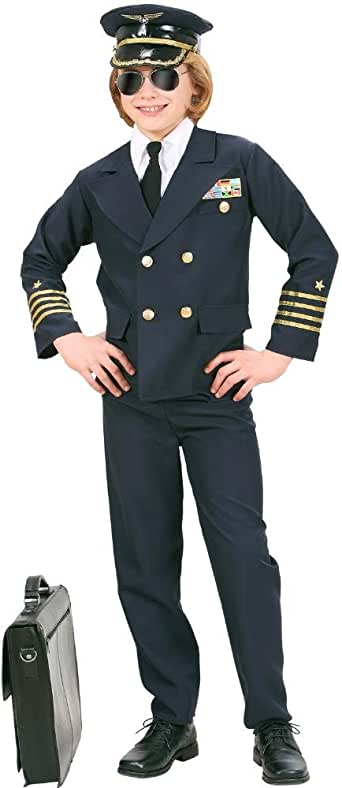 8138/_ GUIRCA Costume vestito comandante pilota aereo carnevale bambino mod