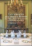 Les services aux oiseaux Buffon du comte Moïse de Camondo : Une encyclopédie sur porcelaine