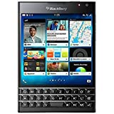 BlackBerry Passport - Smartphone Libre Blackberry (Pantalla 4.5', cámara 13 MP, 32 GB, Quad-Core 2.26 GHz, 3 GB RAM, Teclado QWERTZ alemán), Negro