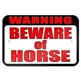 bienternary Attenzione attenti di cavallo 9x 6aluminum Sign metal Signs cartelli stradali vintage segni di latta placche decorative Plaque