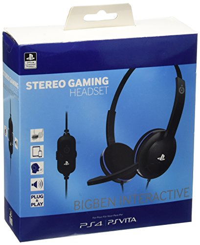 BigBen Interactive – Stereo Headset (Official Licensed) (PS4/PC/PlayStation PS Vita)