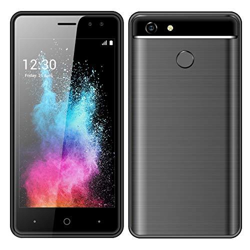 "SIM Free Mobile Phones,HyRich 4.5"" HD IPS Display Dual SIM Unlocked 3G Smartphone(1GB RAM+8GB ROM,2800mAh Battery,5MP Dual Cameras,Bluetooth,GPS,WIFI.)"