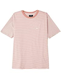 T-SHIRT OBEY APEX TEE ROSE