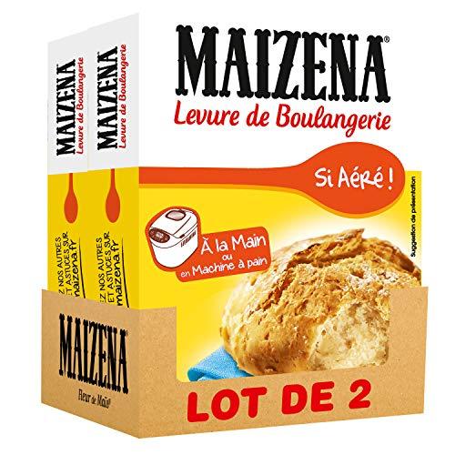 Maizena Levure de Boulangerie 6 Sachets - lot de 2