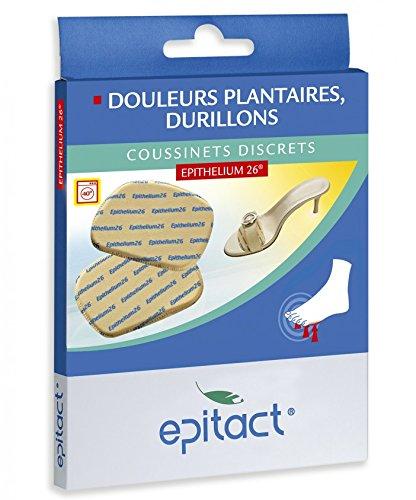 Millet Innovation - Epitact - Coussinets Plantaires Discrets Pour Chaussures Ouvertes - Douleurs Avant-Pieds - Taille Unique