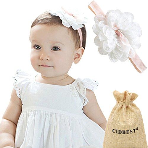 b97528e0ce0435 CIDBEST Niedlich Blumen Baby Mädchen Kids Haarband /Stirnband Newborn  Haarband Fotografie Haarband Nette Design weich