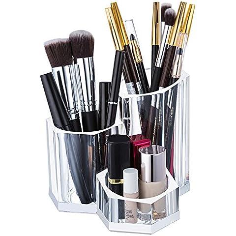 Choice Fun Suministros de Acrílico Maquillaje Organizador de Escritorio Oficina en Cepillo del Maquillaje lápiz