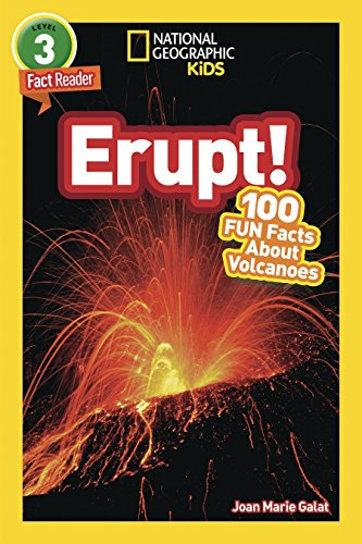 National Geographic Kids Readers: Erupt! (National Geographic Kids Readers: Level 3) por Joan Marie Galat