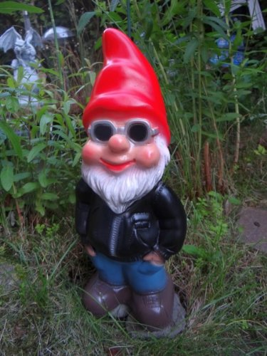 Gartenzwerg Cool aus bruchfestem PVC Zwerg - Made in Germany Figur