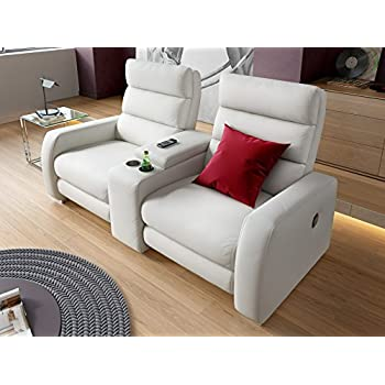 heim kinosofa relaxsofa funktionssofa leder sofa couch recliner relax sessel k che. Black Bedroom Furniture Sets. Home Design Ideas