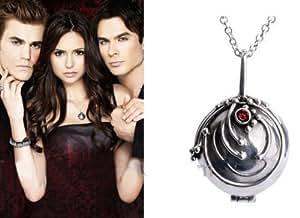 The Vampire Diaries Elena Verveine Médaillon Collier