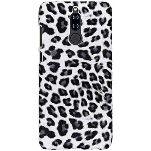 hCase Huawei Mate 10 Lite Hülle - Leopard, Wildkatze, Tiermuster - Hard Case Handyhülle Leopard Hard Case Cover