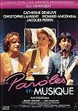 Paroles et musique DVD...