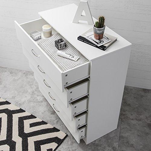 Laura James, cassettiera per camera da letto con 5 cassetti moderno ...