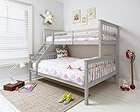 Hanna Triple Bed in Grey Bunk Kids Bed