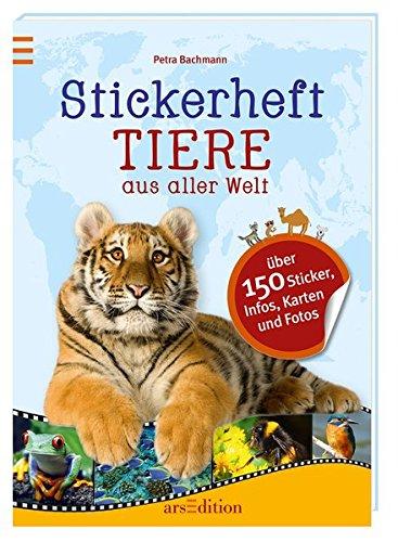 Stickerheft Tiere aus aller Welt