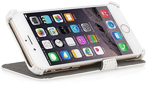 """StilGutUltraSlim V2, Hülle mit Standfunktion für Apple iPhone 6 (4.7""""), schwarz Weiß vintage"""