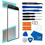 MMOBIEL Front Glas Reparatur Set kompatibel mit LG G5 Series (Schwarz) Display Touchscreen mit Werkzeug-Set