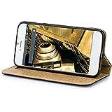 Samsung Galaxy S5 Hülle BOOK Ledertasche im Bookstyle Tasche