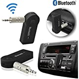 Maruti Suzuki Alto 800 Car Bluetooth Connector Kit Player Wireless Car Bluetooth Adapter Dongle Car Bluetooth 3.5mm Jack Aux Cable Car Bluetooth Audio Receiver With MIC Car Bluetooth Call Receiver Calling Function Car Bluetooth Speaker Stereo System, Car