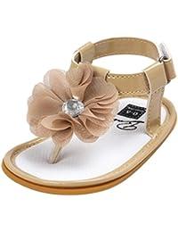 Zapatos Bebé,SMARTLADY Flor de sandalias para Niñas Bebé