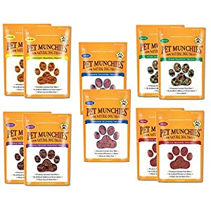 Pet-Munchies-Training-Treats-Mixed-Pack-of-10-2x-Chicken-2x-Chicken-Liver-2x-Sushi-2x-Duck-2x-Venison-All-5-Varieties-in-1-Bundle