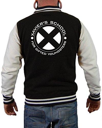 Xavier´s School Jacke Schwarz/Weiß